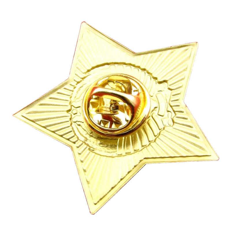 Soviet Tentara Rusia Bintang Merah Pin Uni Soviet