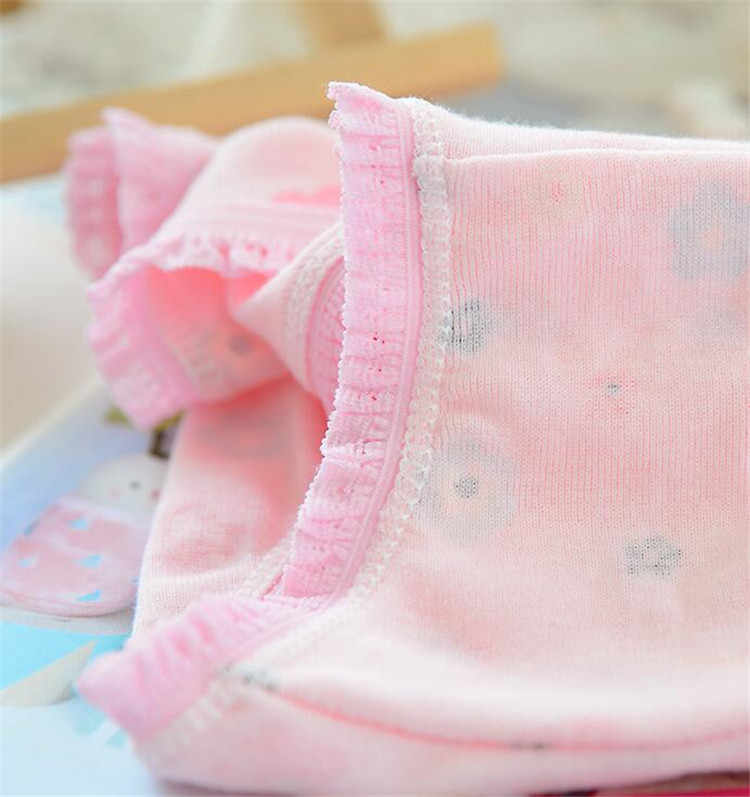 6 جزء/الوحدة الكرتون ملابس داخلية للأطفال لينة القطن الفتيات سراويل الأطفال سراويل للفتيات طفل سراويل الأطفال الملابس RF2-6PCS