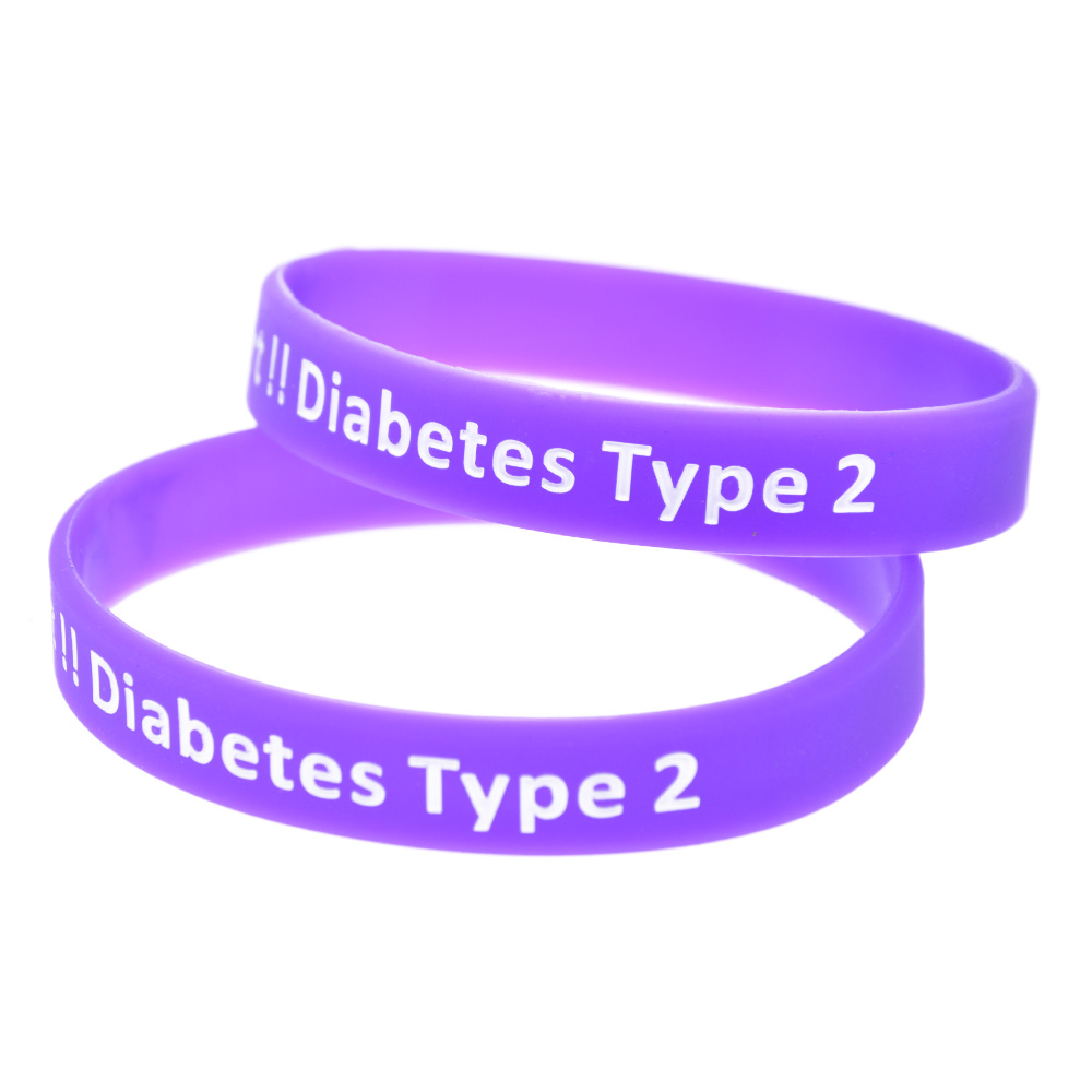 Colour therapy for digestion - Colour Therapy For Diabetes Promo Gift New Colour 1pc Type 2 Diabetic Medical Alert Silicone