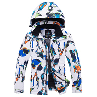 Skiing jackets Kids Boys and Girls Ski Jackets Warm Windproof Waterproof Snow Snowboarding jackets Outdoor Winter Clothes