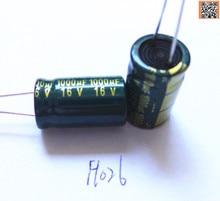 20pcs/lot P92 1000uf16V Low ESR/Impedance high frequency aluminum electrolytic capacitor size 8*16 16V 1000uf