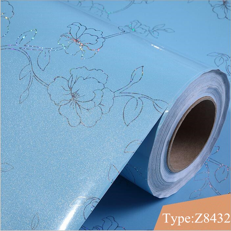 Купить с кэшбэком Wallpapers Youman 5M PVC Waterproof Self-adhesive Sticker in Sticker Wallpaper Wall Sticker Kitchen Cabinet Wall Paper Home Deco