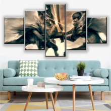 Canvas Print Painting 5 Piece League Of Legends Riven And Wall Art Picture Home Decoration Living Room Wall Picture Printing riven doggeries