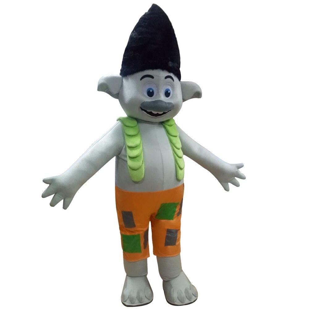 Новый костюм талисмана тролли костюм талисмана парад качество клоуны дни рождения Тролль