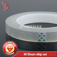 100mm 66M 0 06mm Thick Single Sided Sticky Insulation Mylar Tape For Transformers Fasten Transparent