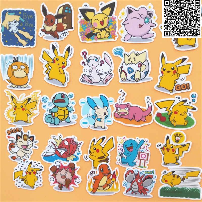 40 piezas de dibujos animados bebé animal pegatinas para la decoración del hogar en el libro de teléfono macbook portátil pegatina calcomanía nevera monopatín doodle juguete