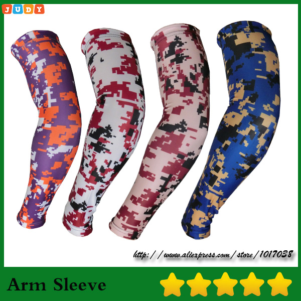 Baseball Basketball Foot Flame Compression Arm Sleeve Youth//Kids /& Adult Sizes