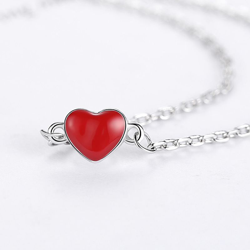 B1 for kim send with bag necklace pretty Queen Necklace romantic princess and princess jewelry girls gift pd2 for kim customer send with bag and box 7mm beads 925 silver jewelry for women and men