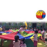 Children Games Whac A Mole Rainbow Umbrella Educational Outdoor Sports Toys Funny Parachute Ballute Kindergarten Kids