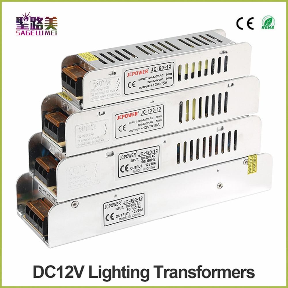 Licht box Led-netzteil AC 220 V zu DC12V 60 Watt 120 Watt 180 Watt 200 Watt 240 Watt 360 Watt 400 Watt Led-treiber Netzteil Led-beleuchtung transformatoren