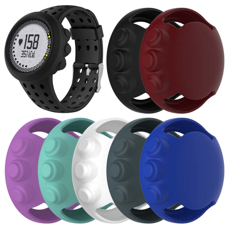 JAVRICK Silicone Protective Frame Case Cover For SUUNTO M1 M2 M4 M5 Sports Smart Watch все цены