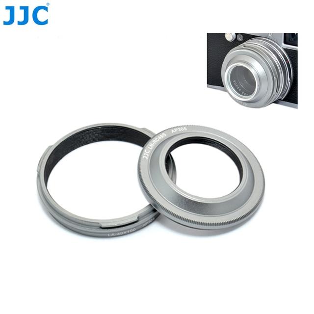 JJC Camera Metal Lens Hood & Lens Adapter for Fujifilm Finepix X100T X100S X100 Digital Camera 30.5mm Lens Hood Filter Diameter