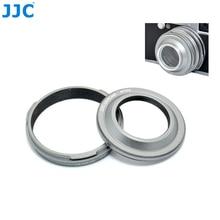 JJC 카메라 금속 렌즈 후드 및 렌즈 어댑터 Fujifilm Finepix X100T X100S X100 디지털 카메라 30.5mm 렌즈 후드 필터 직경