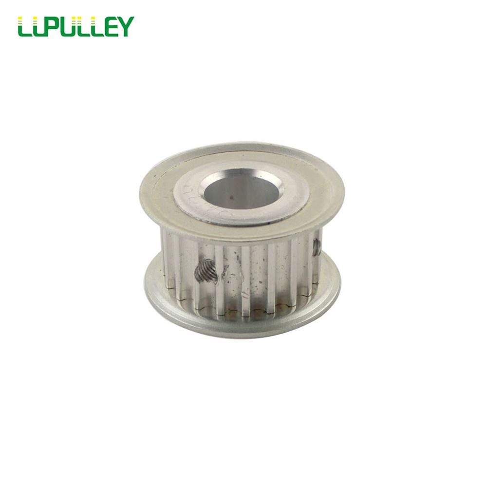 LUPULLEY 1PC 5M Timing Pulley 20T Tooth Belt Drive 16mm Belt Width 5mm/6mm/8mm/10mm/12mm/12.7mm/14mm/15mm Bore Diameter цена