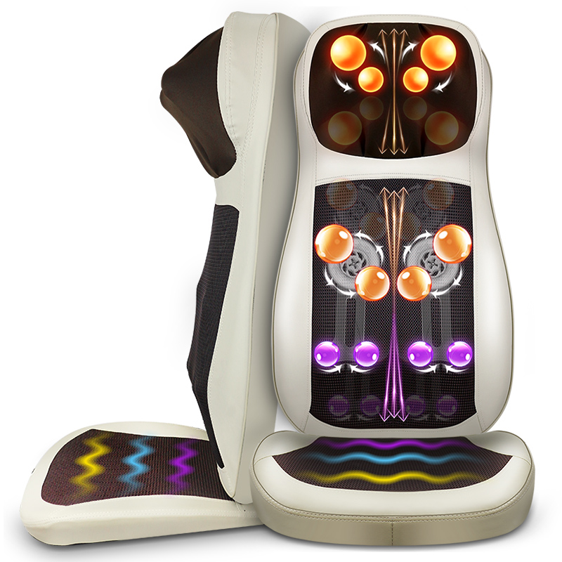 цены The old neck massager neck shoulder waist back body multi-purpose household massage chair cushion body massager