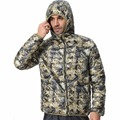 Men Hooded Camouflage Winter Down Jackets 2016 New Arrival Ultralight 90% Duck Snow Fashion Parkas Warm Jackets F1532-EU