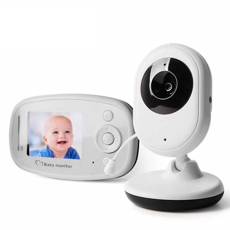 2.4GHz Wireless Baby Camcorder Infant Radio Babysitter Digital Video Camera Sleeping Night Vision Temperature Display Nanny wireless 2 4 lcd color baby monitor high resolution lullabies kid nanny radio babysitter night vision remote camera newborn gift