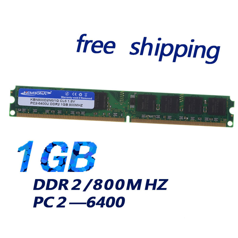 KEMBONA best computer part 1gb ram memoria ett original chipset logo 800mhz for desktop  ...