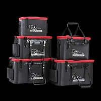 Paseo de peces de alta calidad 30/35/40/45/50cm al aire libre Cubo de EVA cubo plegable portátil bolsas de pesca para Camping senderismo