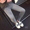 Barato al por mayor 2017 nueva venta Caliente Del Otoño Invierno moda mujer casual TX1012-5 Sexy Jeans