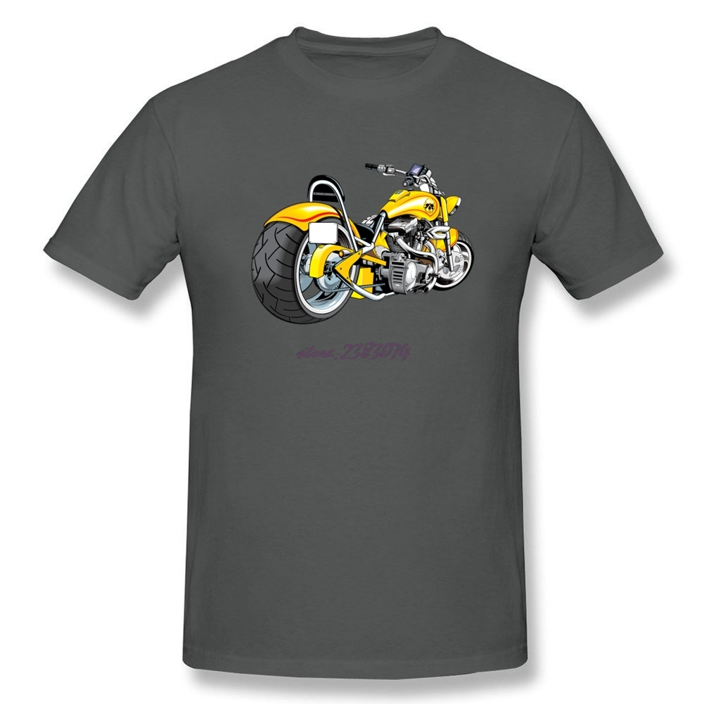 Shirt design ink - Funny Males Cotton T Shirt Heavy Motorbike Design Short Sleeve Printed With Healthy Ink T Shirt