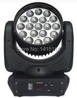 2 stuks led lichtbron 19X12 w rgbw led zoom moving head wash podium licht goedkope dj verlichting voor party bar-in Toneelbelichtingseffecten van Licht & verlichting op