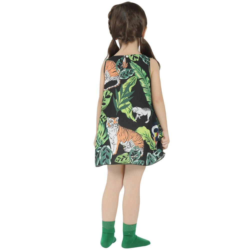 0b02310ba2bb Girls Dress MQ 2018 New Arrival Summer Fashion Birthday Party A Line Casual  Floral Dresses For Girl Kids Clothes Sleeveless Hot-in Dresses from Mother  ...