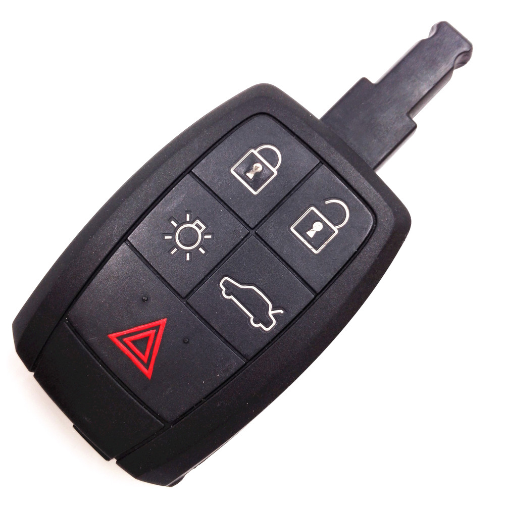Original Remote Key Shell for VOLVO S40 C30 C70 Keyless Entry Fob 4+1 Buttons,Key Case For Car