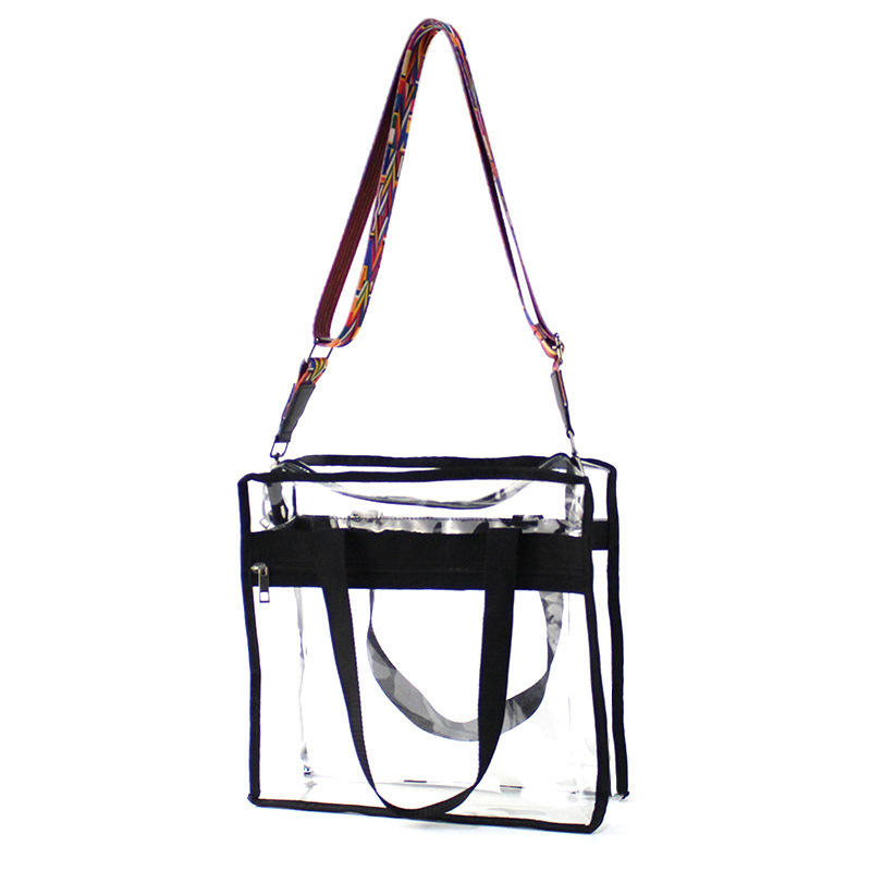 Crossbody Transparent Bags for Women 2018 Summer Chic Large Size PVC Clear  Handbags for Shopping Girls 2d11dc6fbfa5c