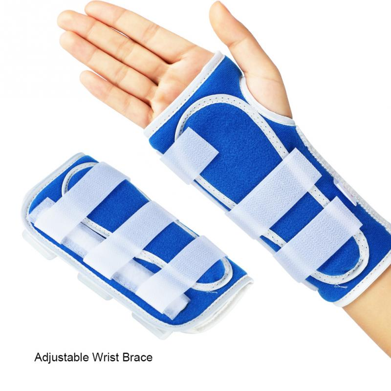 Adjustable Finger Forearm Fixation Stabiliser Breathable Wrist Brace Hand Support Fracture Ligament Injury Arm Protection Strap