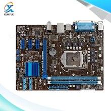 Для p8h61-m lx3 plus r2.0 оригинальный используется для рабочего материнская плата для intel H61 Сокет LGA 1155 Для i3 i5 i7 DDR3 16 Г uATX