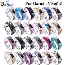 Colorful Watchband Wrist Strap for Garmin Vivofit3 JR / JR2 Silicone Band wristband Vivofit 3 Bracelet Sport Straps
