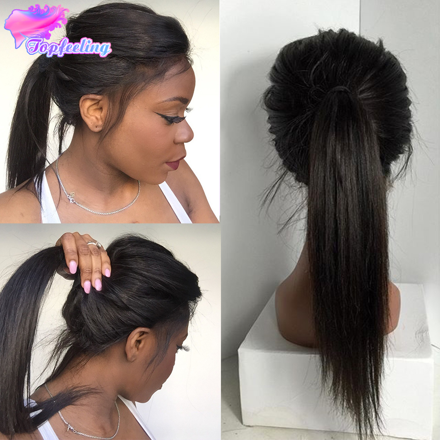Silky Straight Peruvian Full Lace Wig Amp Lace Front Wig For
