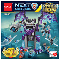 Knight Stone Colossus Of Ultimate Destruction Model Building Blocks 14036 Assemble Bricks Toys Nexus Compatible With