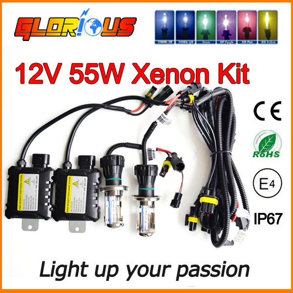 12V 55W H4 Bi xenon lamp kit 9004 9007 H13 H4 hid hi lo BI-XENON light bulb 55W 6000K 8000K 4300K 5000K 10000K H4 Bi xenon kit stylish palm shape multi layered friendship bracelet for women