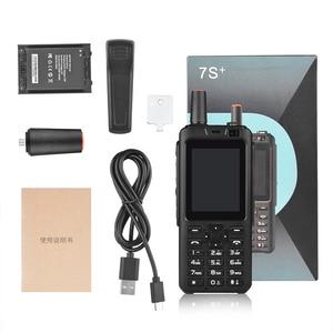 Image 5 - Рация Zello PTT, 4G LTE, POC, 7S, Android 6,0, GPS, Fm передатчик с двумя SIM картами