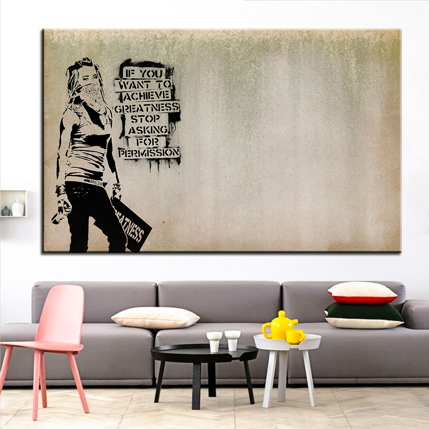 Us 3 49 50 Off Large Size Printing Oil Painting Statement Wall Painting Home Decorative Wall Art Picture For Living Room Painting No Frame In