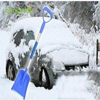Car Home Telescopic Emergency Shovel With Grip Raspador De Gelo Raspador De Hielo Hot Handy New