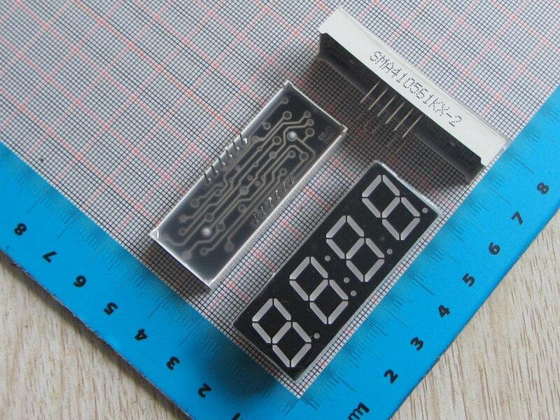 Бесплатная доставка с Трек 5461 10 шт. Новый 0.56 дюйм(ов) 4bit общий анод светодиодный 5461 светодиодный цифровой трубки для часов красный
