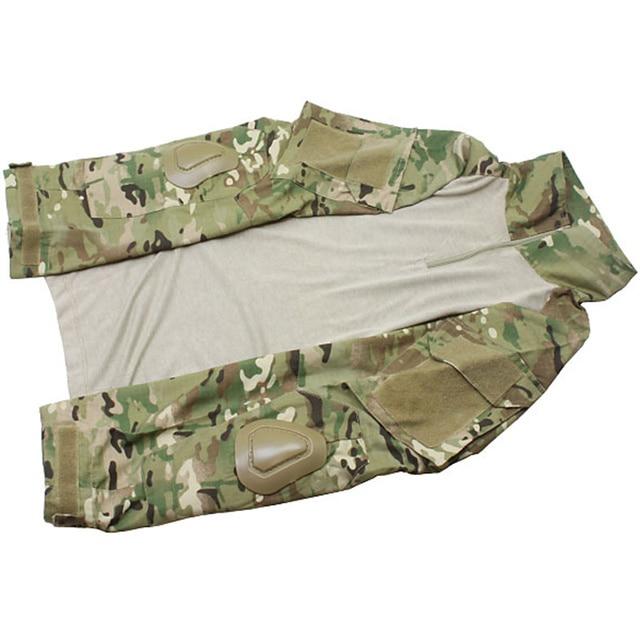 Multicam Camouflage Tactical BDU Uniform Camo Men Airsoft Sniper Paintball Military Suit Combat Shirt Pants Hunting Clothes 5