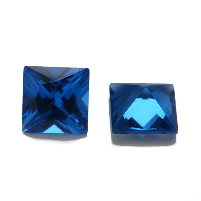 Фото размер 3x3 мм ~ 10x10 синяя квадратная форма фотоэлемент украшений цена