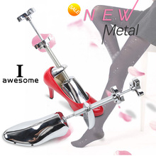1 Piece Adjustable Aluminum Vintage Metal New Arrival Men and Women Shoe Expander Stretcher Shoe Shapes Adjustable shoes Tree brand adjustable expander vintage shoes tree shaper rack 1 piece metal shoe stretcher aluminum alloy shoe trees for men women