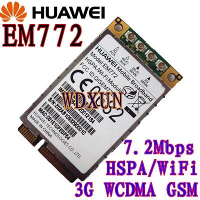 EM772 Global 3G WWAN HSDPA WIFI 802.11b / g / n Modul NEZAKLJUČEN wifi + 3G nego Wlan