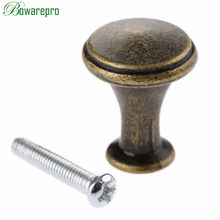bowarepro Furniture Handle Cupboard Round Pulls Decorative Mini Jewelry Box Drawer Cabinet Door Pull Knob Furniture Hardware 1PC(China)