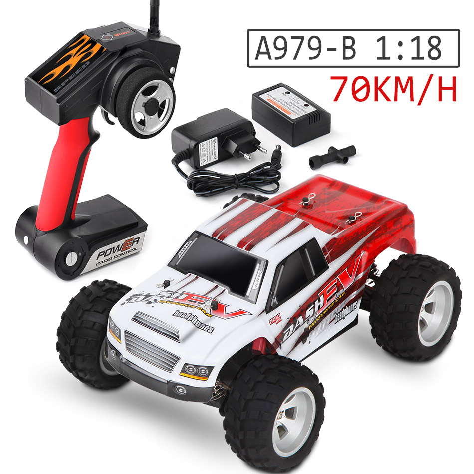 Wltoys 70KM/H Highspeed 1/18 Scale A979-B 2.4G Radio Control Truck A979/A979-A RC Buggy 4WD Monster Off-Road RTR RC Car Toys rc car 2 4g 1 18 scale 4wd remote control model high speed off road rc buggy for wltoys a979 vehicle toys children gifts m09
