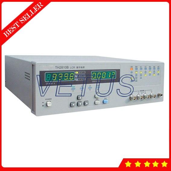 Instrument de mesure d'impédance à usage général TH2810B 10 kHz avec 2 points d'impédance de sortie 4 points de fréquence