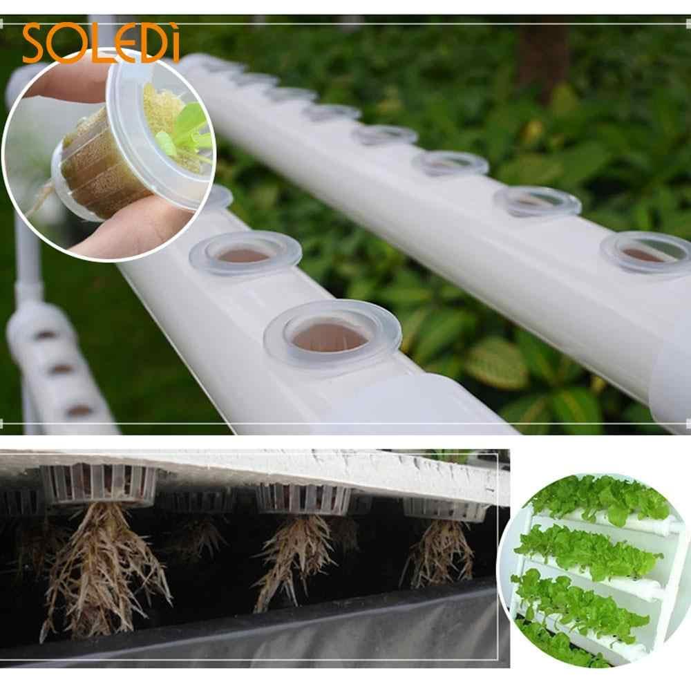 10 pcs Malha Net Potes Legumes Plantio Soilless Hidropônico Potes Berçário Berçário Copos Cesta Durável Mini Cuidados Com as Plantas Reutilizável
