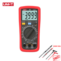 UNI T UT39C+ Digital Multimeter 1000V 10A Auto Range Tester Upgraded from UT39C AC DC V/A Ohm /Temp /Frequency/HFE/NCV test