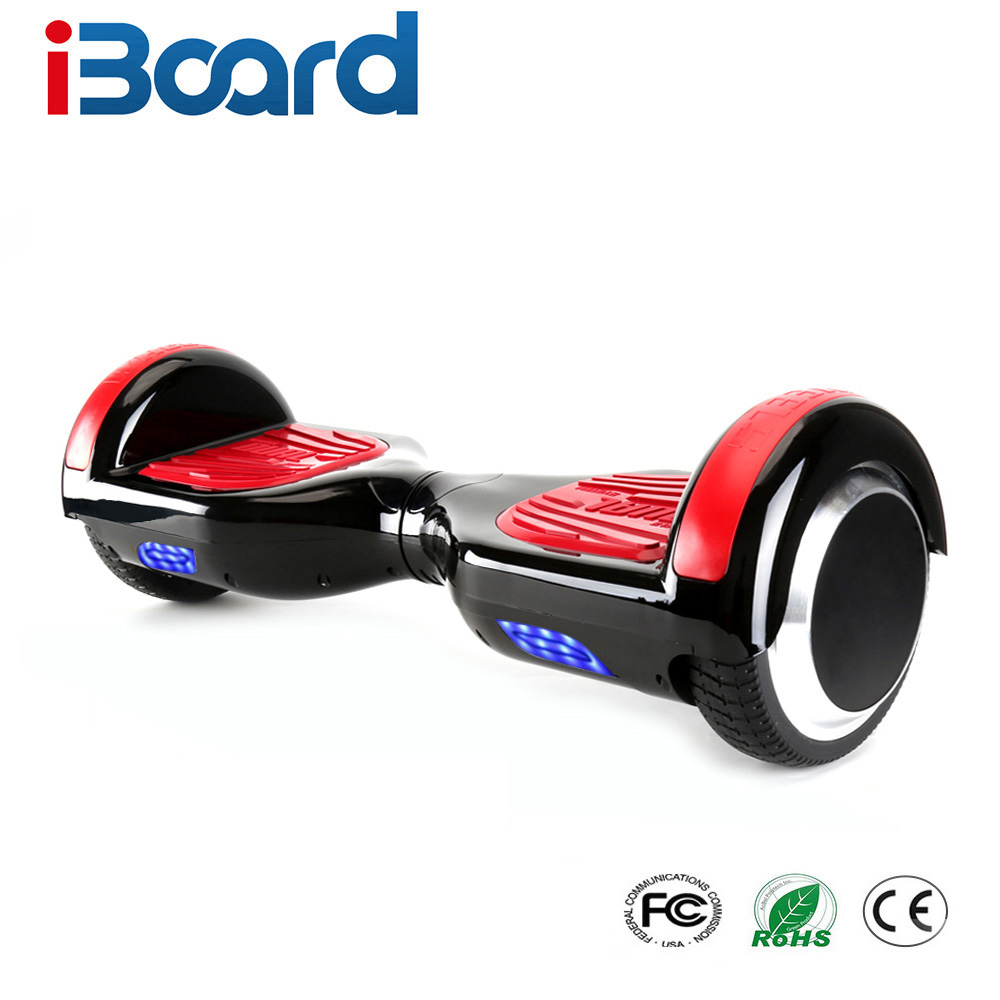 iBoard 6.5 Inch Hoverboard Two Wheels Self Balance Scooter Hover Board With Carry Bag Bluetooth UL Certificated цена