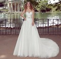 ON455 Suzhou Perfect New Fashion Lace Sweetheart Wedding Dresses Crystal Belt Long Bridal Dress Cheap Customized Online Store